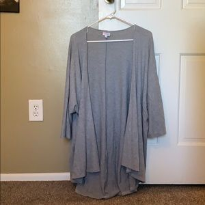 Gray Comfy Large Lularoe Shirley